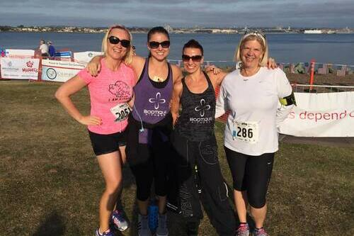 August Featured Boot Camp Client – Aggie