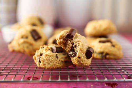 Dairy-Free Cream Cheese Chocolate Chunk Cookies