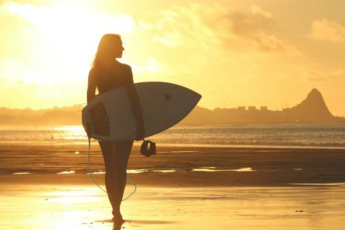 Surfing is a favorite for San Diego Fitness Enthusiasts